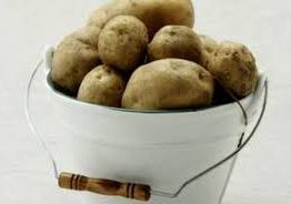 potatoes bucket