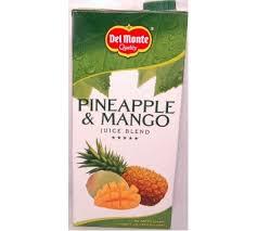 del pineapple & mango 1l