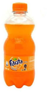 fanta orange plastic 350ml