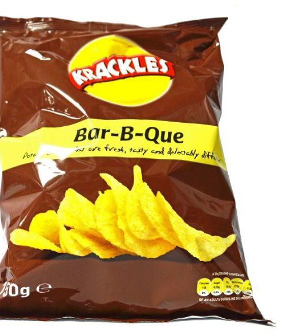 krackles bar-be-que 150g