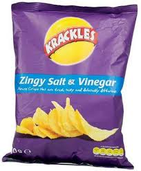 krackles salt & vinegar 150g