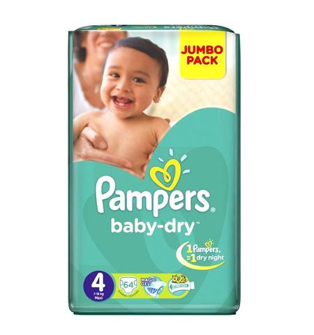 pampers jumbo maxi 64s