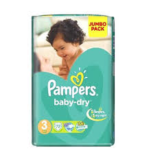 pampers jumbo midi no.3 72s