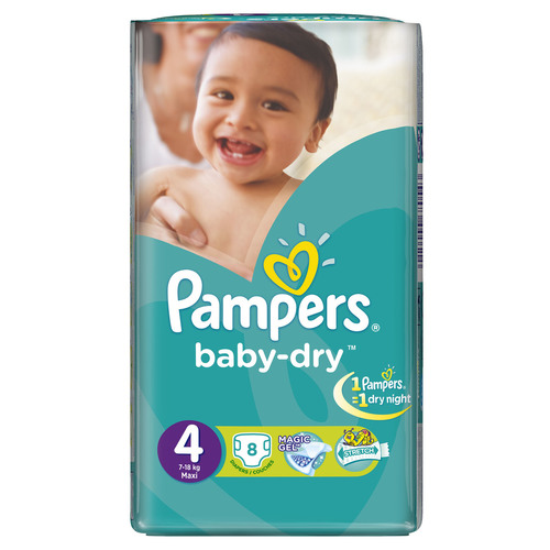 pampers maxi no.4 8s