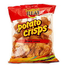 tropical heat potato 200g