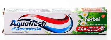 aquafresh herbal 100ml