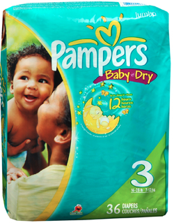 pampers diaper midi no.3 36s