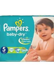 pampers junior no.5 30s