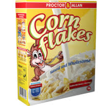 proctor allan corn flakes 1kg